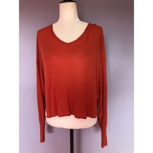 Urban Outfitters BDG orange Henley